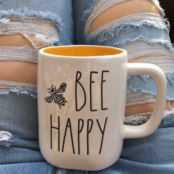 Rae Dunn Other - Rae Dunn Spring Nature Enthusiast Bee Happy Mug